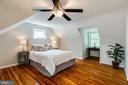 3rd bedroom on upper level - 1709 S QUINCY ST, ARLINGTON