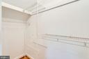 One of two  closets in the 3rd bedroom - 1709 S QUINCY ST, ARLINGTON