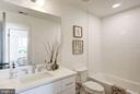 2nd full bath - photo of similar penthouse - 1005 BRYANT ST NE #4, WASHINGTON