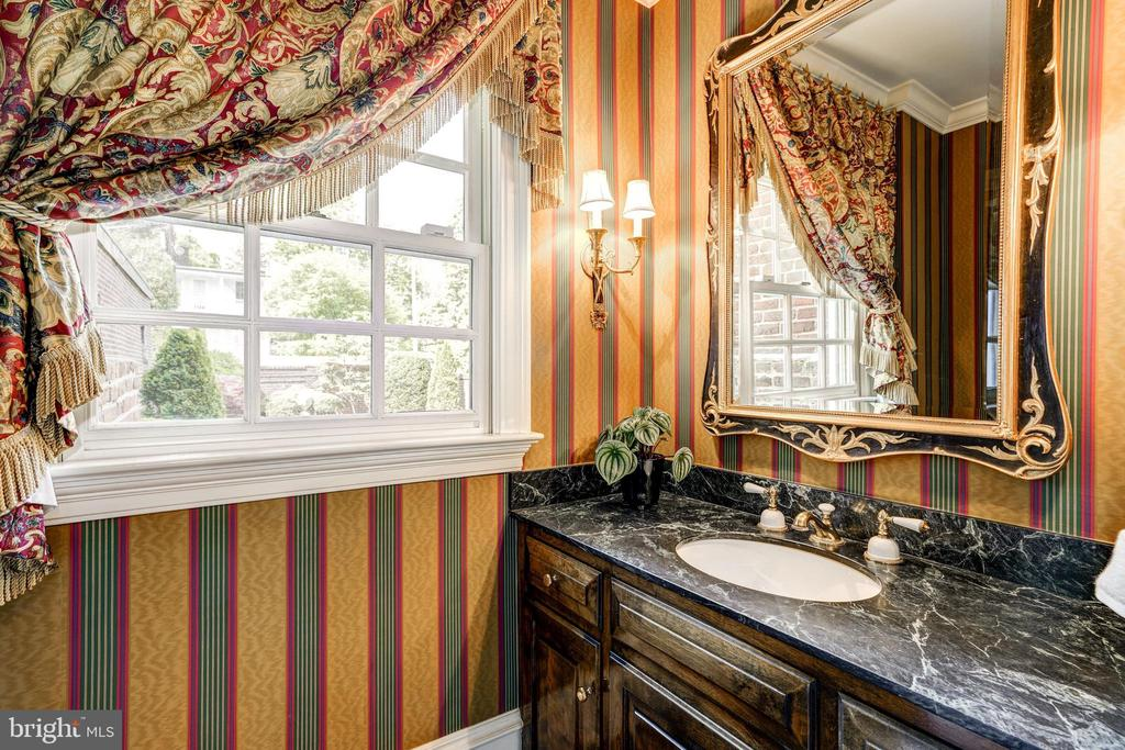 View of one of 6 bathrooms. - 3327 N ST NW, WASHINGTON