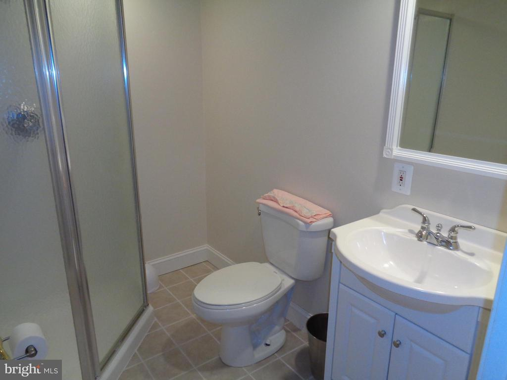 Lower level has Full Bath great for guests - 4524 MOSSER MILL CT, WOODBRIDGE