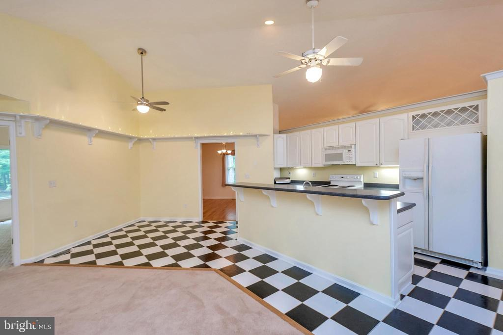Open kitchen floor plan - 118 JEFFERSON AVE, LOCUST GROVE