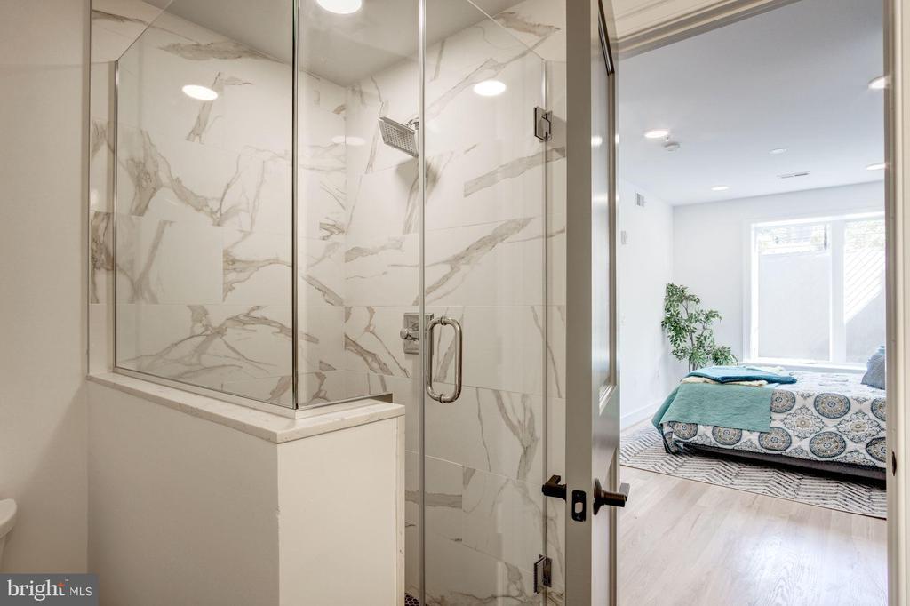walk in shower - photo of similar unit - 1005 BRYANT ST NE #2, WASHINGTON