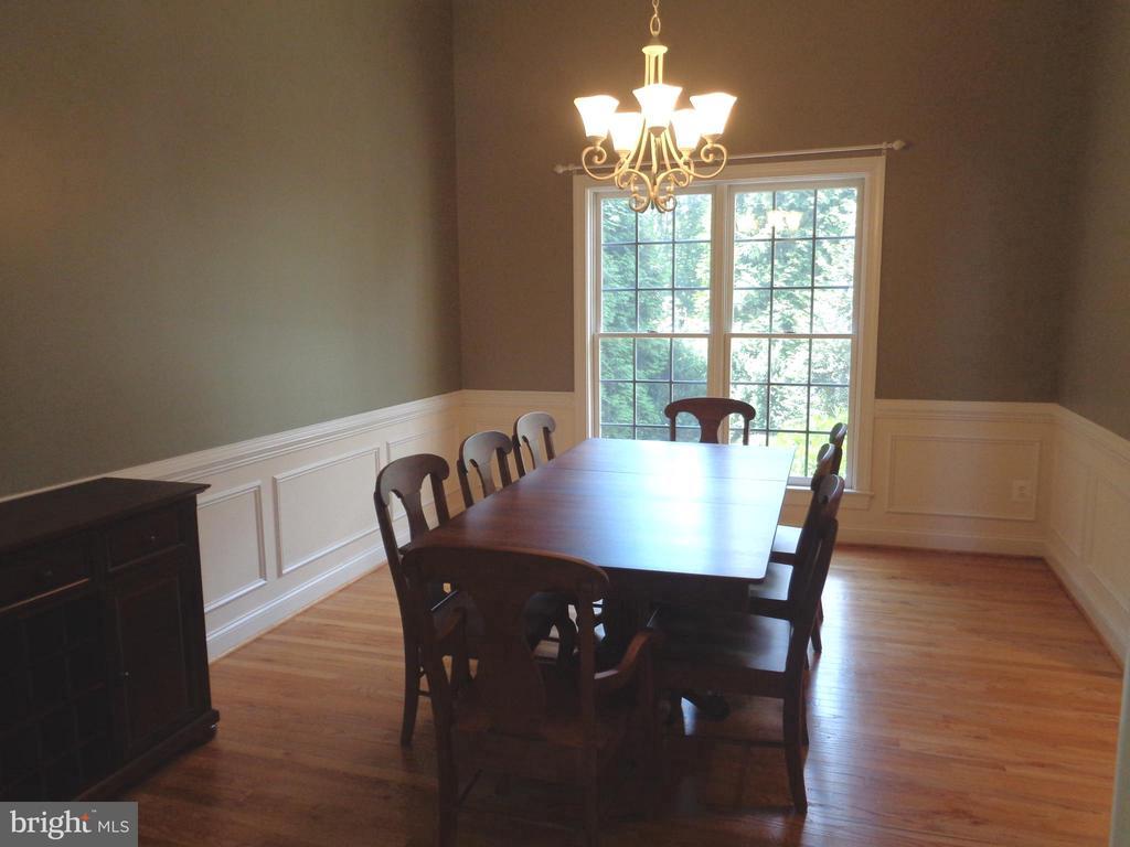Dining Room with Hardwood Flooring - 4524 MOSSER MILL CT, WOODBRIDGE