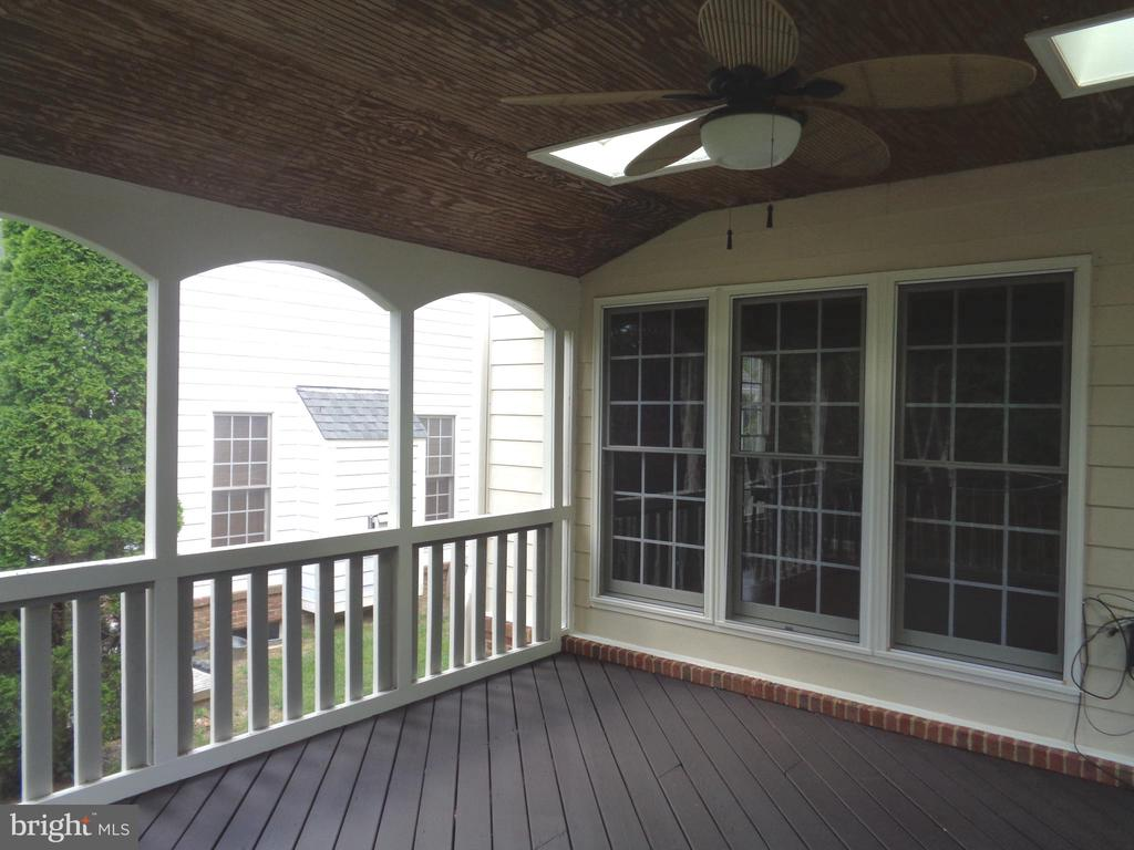 A Porch for all Seasons - 4524 MOSSER MILL CT, WOODBRIDGE