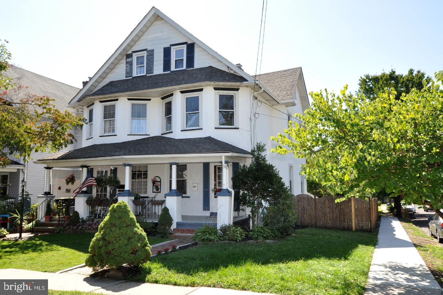 Single Family Homes for Sale at Merchantville, New Jersey 08109 United States