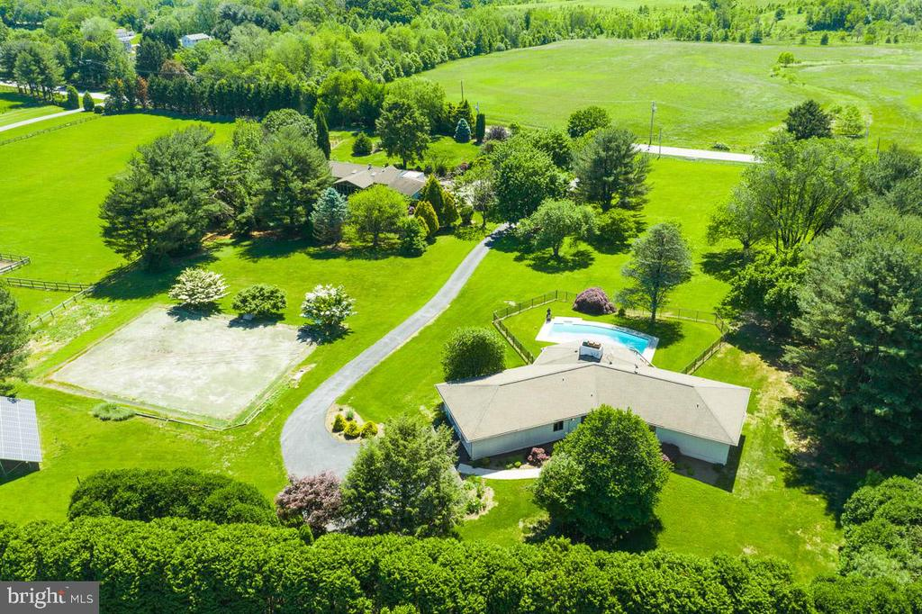 Aerial view of property - 1920 WOODSTOCK RD, WOODSTOCK