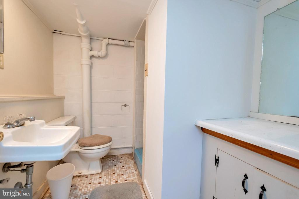 lower level bath with shower - 1043 S LAKESHORE DR, LOUISA