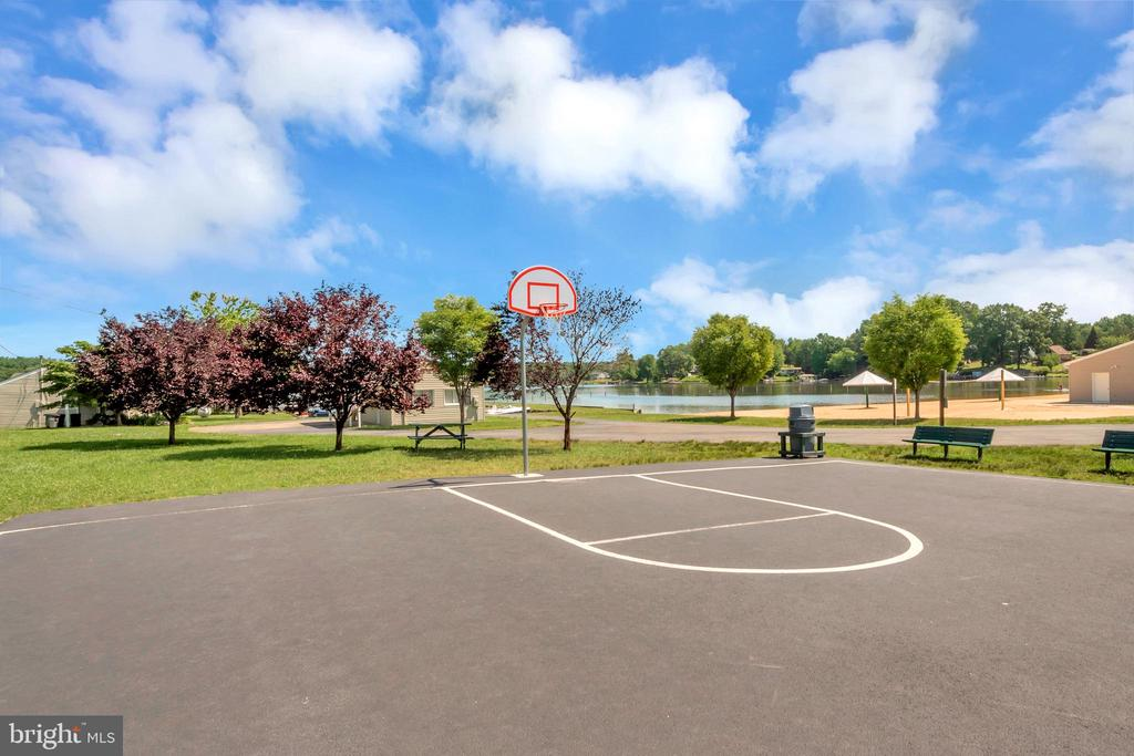 HOA ammenities - Basketball courts - 1043 S LAKESHORE DR, LOUISA