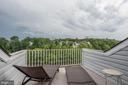 Private deck on top floor of house - 43019 MILL RACE TER, LEESBURG