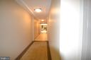 This unit is a few doors to the lobby.  Convenient - 1021 N GARFIELD ST #117, ARLINGTON
