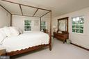 A generous guest bedroom offers  three windows - 639 S SAINT ASAPH ST, ALEXANDRIA