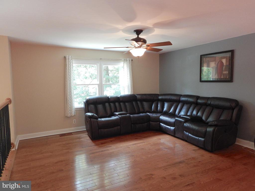 Living room w/wood floors, updated paint - 340 ALBANY ST, FREDERICKSBURG