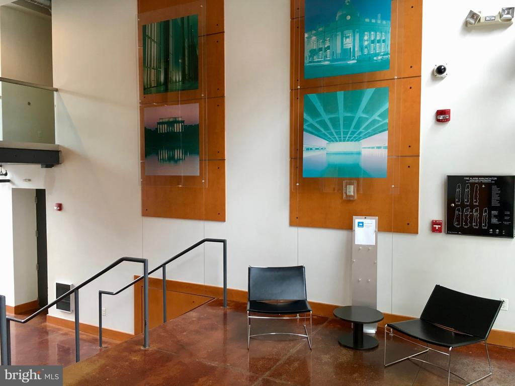 Lobby entrance - 2301 CHAMPLAIN ST NW #305, WASHINGTON