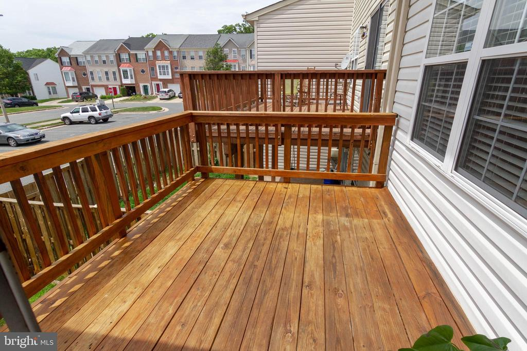 Deck - 17378 HOT SPRINGS WAY, DUMFRIES