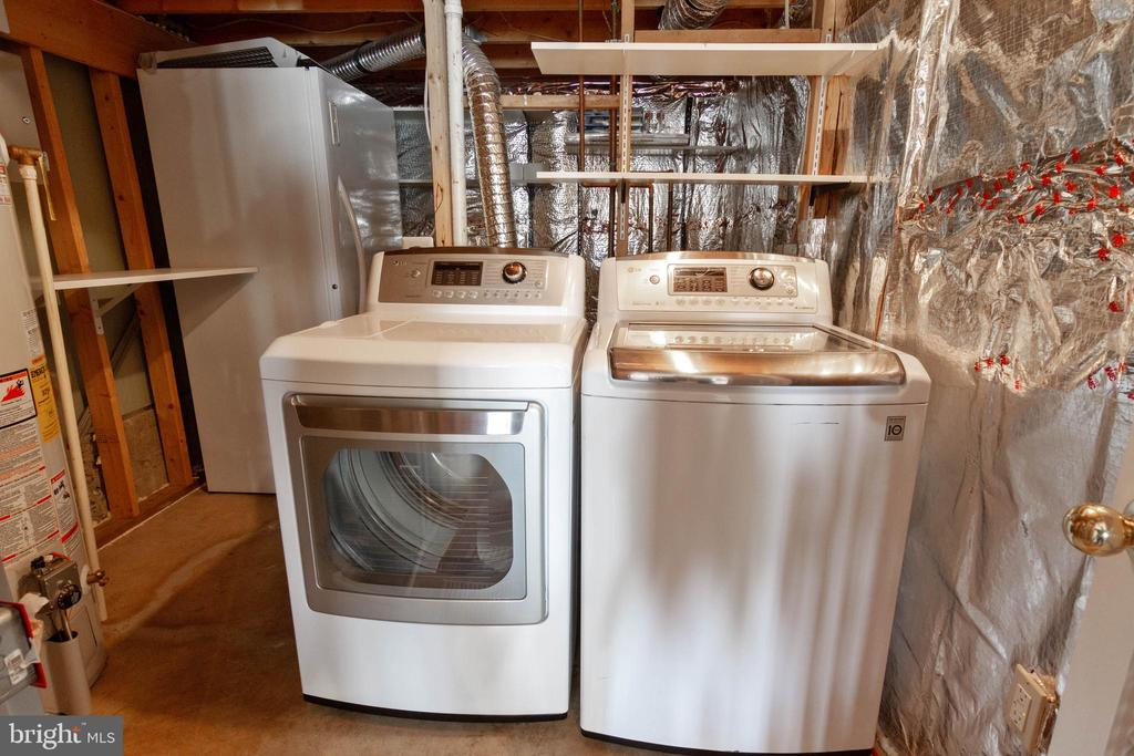 Laundry - 17378 HOT SPRINGS WAY, DUMFRIES