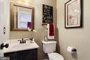 Lower Level Half Bath - 17378 HOT SPRINGS WAY, DUMFRIES