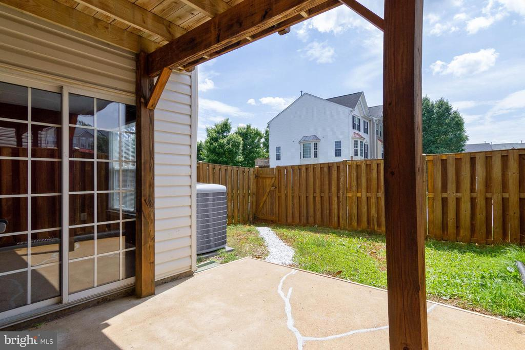 Patio - 17378 HOT SPRINGS WAY, DUMFRIES
