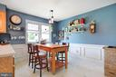 Eat-in area of the Kitchen - 1105 REDBUD RD, WINCHESTER