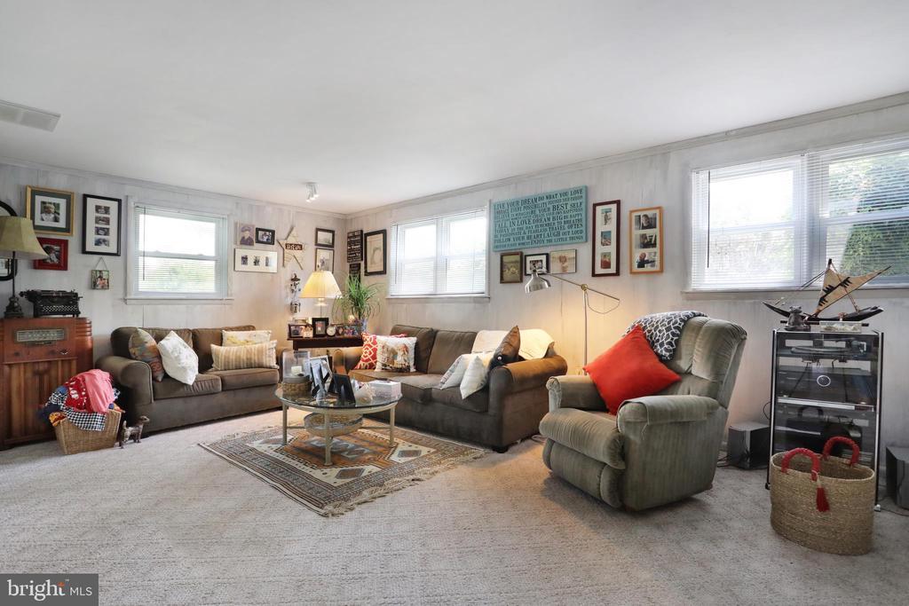 Family Room ~Lower Level - 1105 REDBUD RD, WINCHESTER