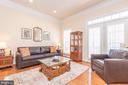 Light and Bright Living Room w/Lots of Windows - 21893 HAWKSBURY TER, BROADLANDS