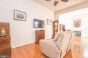 Family Room Off Kitchen - 21893 HAWKSBURY TER, BROADLANDS