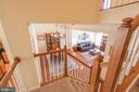Dining Room & Living Room from Stairs - 21893 HAWKSBURY TER, BROADLANDS