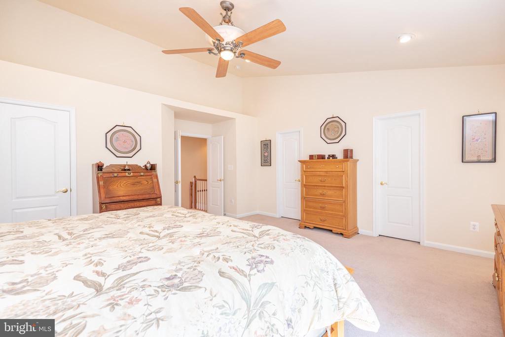 3 Closets & Ceiling Fan in Master Bedroom - 21893 HAWKSBURY TER, BROADLANDS