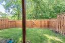Large Fenced Yard Backs to Trees - 21893 HAWKSBURY TER, BROADLANDS
