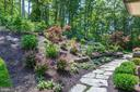 Gardens and Stone Walkway - 1049 BROOK VALLEY LN, MCLEAN