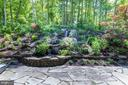 Serene Waterfall Feature - 1049 BROOK VALLEY LN, MCLEAN