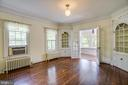 The Formal Dining Room has matching built-ins - 1104 COLLEGE AVE, FREDERICKSBURG