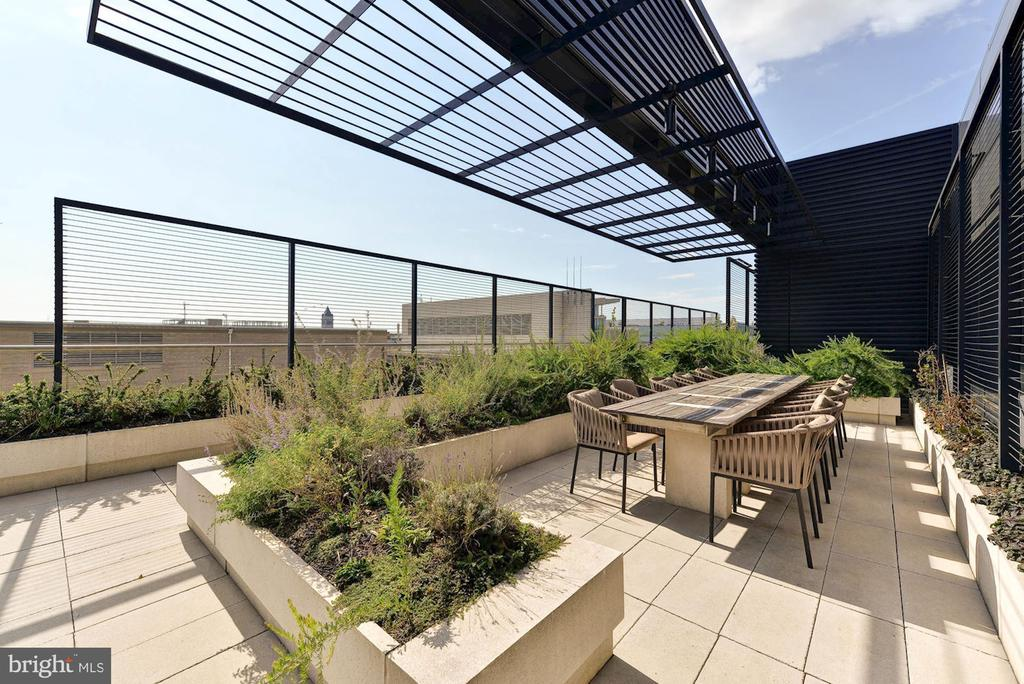 City Center Expansive Rooftop Terrace w/ Views - 925 H ST NW #713, WASHINGTON