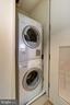 Stacked Washer and Dryer In Unit - 925 H ST NW #713, WASHINGTON