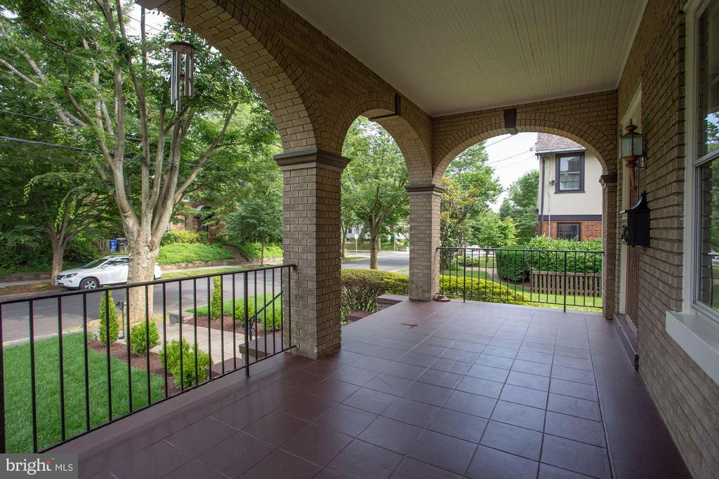 Arched Front Porch - 4310 18TH ST NW, WASHINGTON
