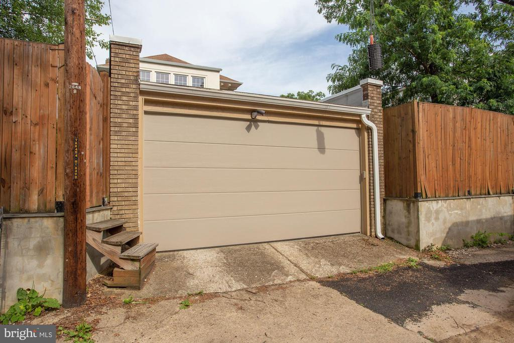 2 Car Garage - 4310 18TH ST NW, WASHINGTON
