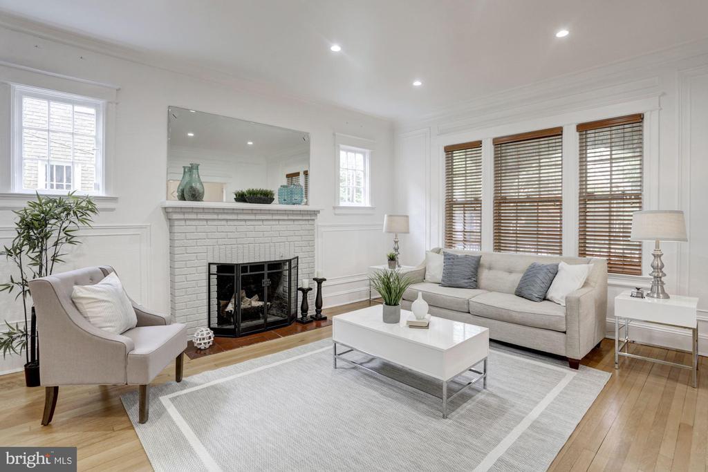 Impressive Living Room - 4310 18TH ST NW, WASHINGTON