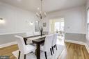 Formal Dining Room - 4310 18TH ST NW, WASHINGTON