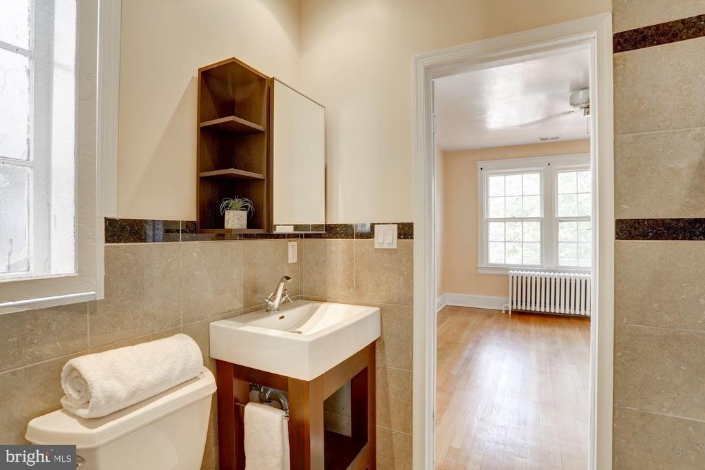 Updated Full Bath - 4310 18TH ST NW, WASHINGTON
