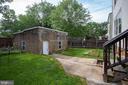 Fenced Backyard Off The Kitchen - 4310 18TH ST NW, WASHINGTON