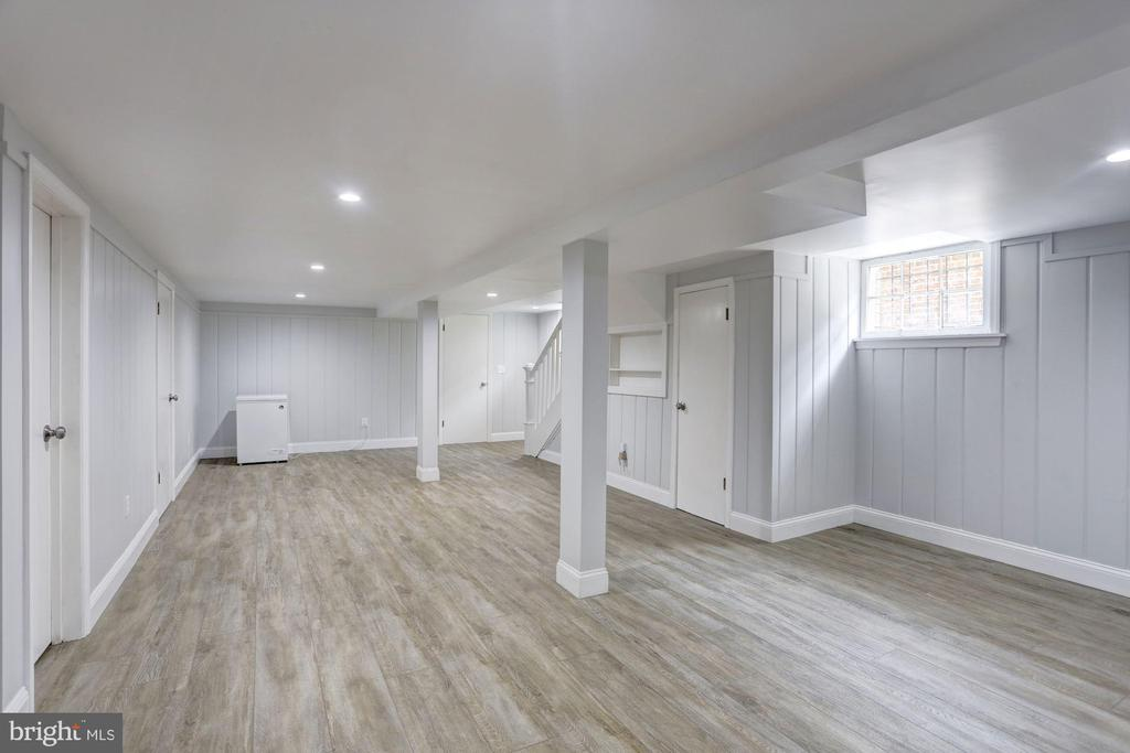 Lower Level Family Room - 4310 18TH ST NW, WASHINGTON