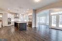 View of Kitchen and Sunroom - 10710 HARLEY RD, LORTON