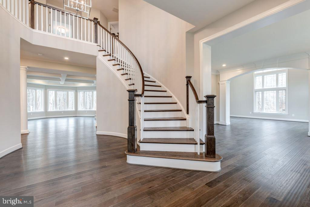 Main Stairs to upper Level - 10710 HARLEY RD, LORTON