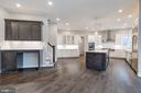 Charging Station, Stairs to Upper Level, Kitchen - 10710 HARLEY RD, LORTON