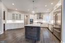 Kitchen with SS Appliances - 10710 HARLEY RD, LORTON