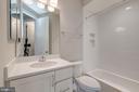 Upper Level Full Bathroom #2 - 10710 HARLEY RD, LORTON