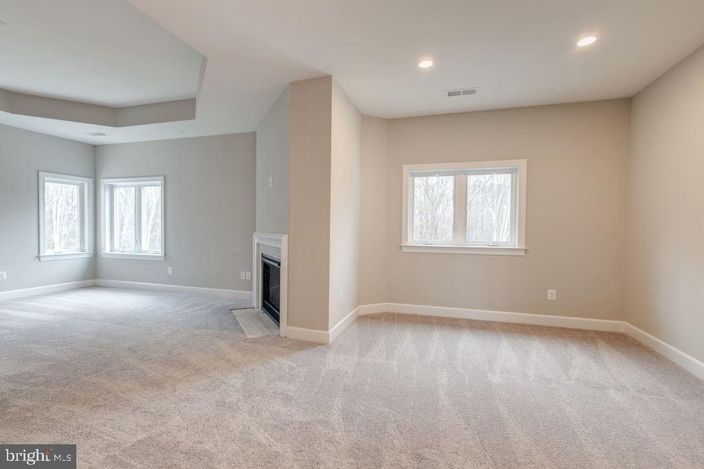 Owner's Bedroom with Fireplace - 10710 HARLEY RD, LORTON