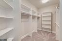 2nd Walk-In Closet - Owner's Bedroom - 10710 HARLEY RD, LORTON