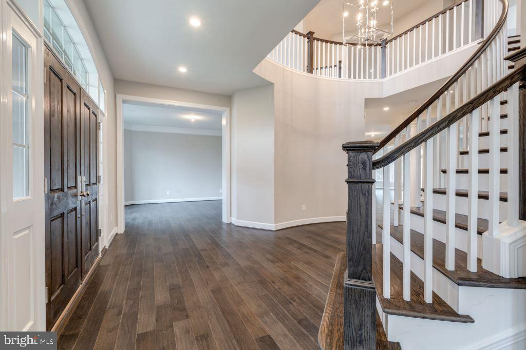 Front Door, Foyer, Main Stairs to Upper Level - 10710 HARLEY RD, LORTON