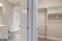 Upper Level Full Bathrm#2 & Walk-In Closet - 10710 HARLEY RD, LORTON